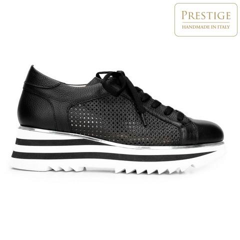 Dámské boty, černo-bílá, 92-D-104-1-36, Obrázek 1