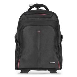 Černý batoh na kolečkách, černo-červená, 56-3S-630-13, Obrázek 1