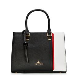Dámská kabelka, černo-červená, 88-4E-306-1, Obrázek 1