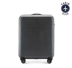 Kabinový cestovní kufr, černo-červená, 56-3A-410-10, Obrázek 1