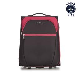 Kabinový cestovní kufr, černo-červená, V25-3S-231-15, Obrázek 1