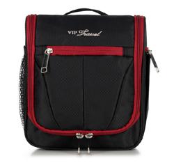Kosmetická taška, černo-červená, V25-3S-234-15, Obrázek 1