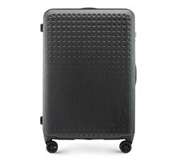 Velký cestovní kufr, černo-červená, 56-3A-413-10, Obrázek 1