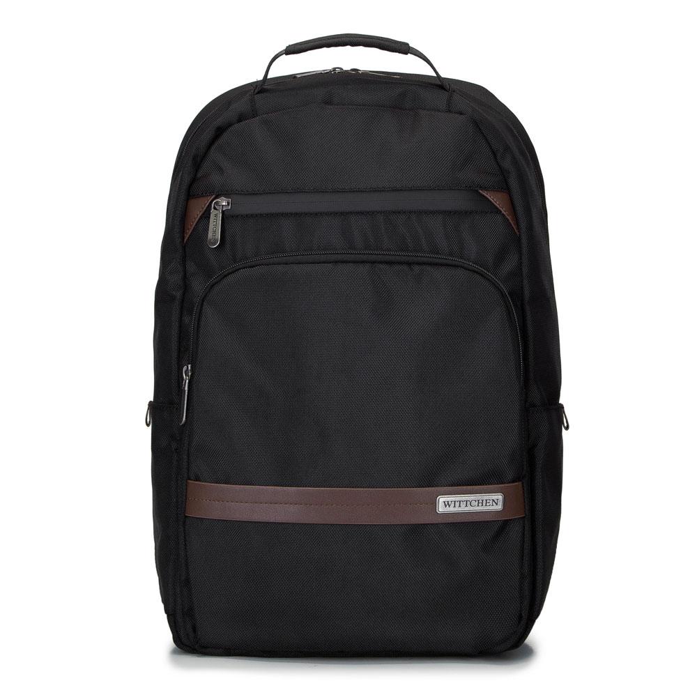 Panský batoh, černo-hnědá, 92-3P-105-15, Obrázek 1