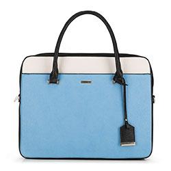 Dámská kabelka, černo-modrá, 90-4Y-616-X2, Obrázek 1