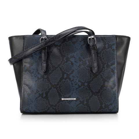 Dámská kabelka, černo-modrá, 89-4Y-409-8, Obrázek 1