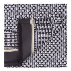 Pánská šála, černo-modrá, 86-7M-S40-X05, Obrázek 1