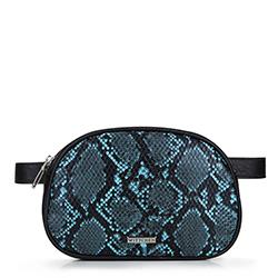 Pasová taška, černo-modrá, 88-4Y-306-1N, Obrázek 1