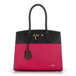 Dámská kabelka, černo-růžová, 89-4Y-603-1, Obrázek 1
