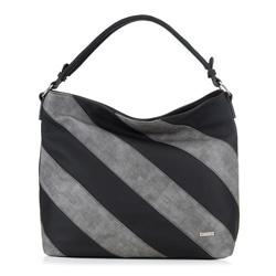 Dámská kabelka, černo šedá, 89-4Y-552-1, Obrázek 1