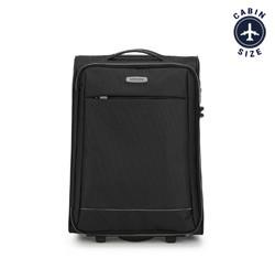 Kabinový cestovní kufr, černo šedá, 56-3S-461-11, Obrázek 1