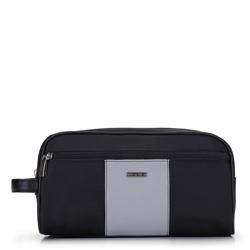Kosmetická taška, černo šedá, 92-3-108-1, Obrázek 1