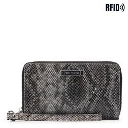 Peněženka, černo šedá, 26-1W-428-8P, Obrázek 1