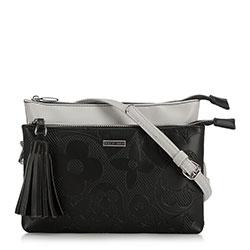 Dámská kabelka, černo šedá, 90-4Y-604-1, Obrázek 1
