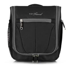 Kosmetická taška, černo šedá, V25-3S-234-01, Obrázek 1