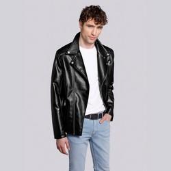 Pánská bunda, černo-stříbrná, 92-9P-153-1S-M, Obrázek 1