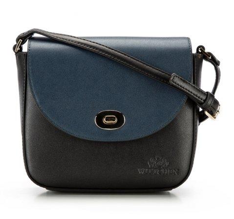 Dámská kabelka, černo-tmavěmodrá, 85-4E-449-3, Obrázek 1