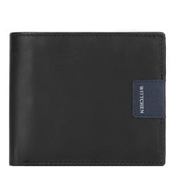 Peněženka, černo-tmavěmodrá, 26-1-119-17, Obrázek 1