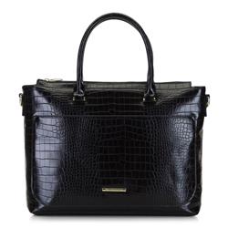 Dámská kabelka, černo-zlatá, 92-4Y-221-1C, Obrázek 1
