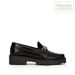 Dámské boty, černo-zlatá, 93-D-531-1-39, Obrázek 1