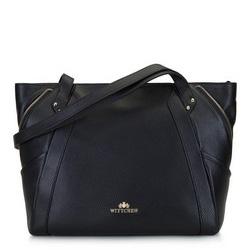 Dámská kabelka, černo-zlatá, 92-4E-646-1, Obrázek 1