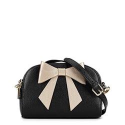 Dámská kabelka, černo-zlatá, 90-4E-372-1, Obrázek 1