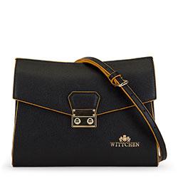 Dámská kabelka, černo-žlutá, 90-4E-612-1Y, Obrázek 1