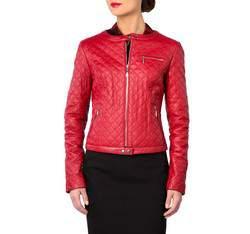 Dámská bunda, červená, 81-09-907-3-M, Obrázek 1
