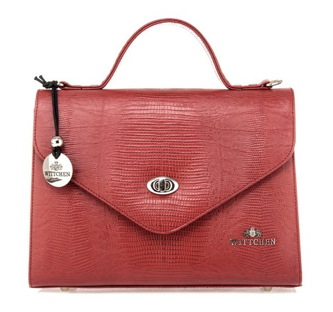 Dámská kabelka, červená, 15-4-063-3J, Obrázek 1