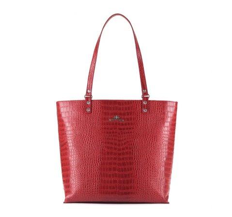 Dámská kabelka, červená, 15-4-323-3, Obrázek 1