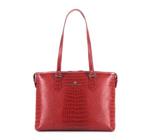 Dámská kabelka, červená, 15-4-325-F, Obrázek 1