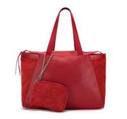 Dámská kabelka, červená, 82-4E-007-3, Obrázek 1