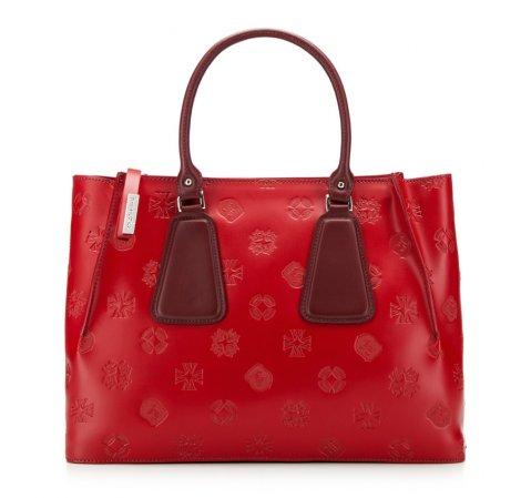 Dámská kabelka, červená, 85-4E-006-81, Obrázek 1