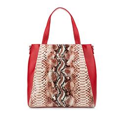 Dámská kabelka, červená, 85-4E-355-3, Obrázek 1