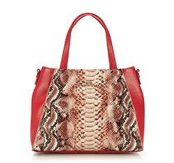 Dámská kabelka, červená, 85-4E-356-3, Obrázek 1