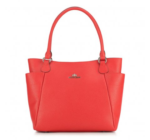 Dámská kabelka, červená, 87-4E-425-3, Obrázek 1