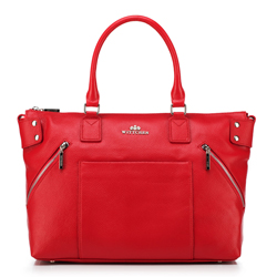 Dámská kabelka, červená, 88-4E-200-3, Obrázek 1