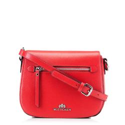 Dámská kabelka, červená, 88-4E-419-3, Obrázek 1