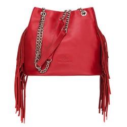 Dámská kabelka, červená, 88-4E-929-3, Obrázek 1