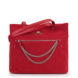 Dámská kabelka, červená, 90-4E-359-3, Obrázek 1