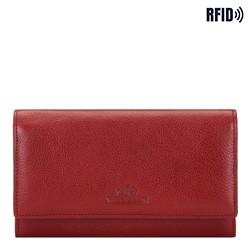 Dámská kožená peněženka, červená, 21-1-235-3L, Obrázek 1