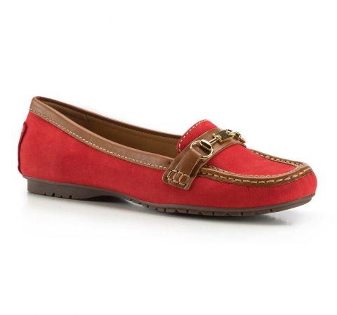 Dámské boty, červená, 86-D-704-3-35, Obrázek 1