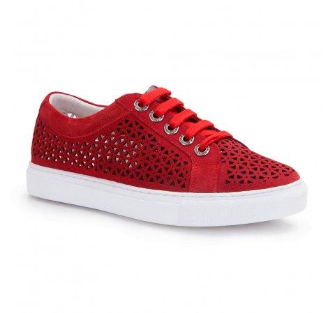 Dámské boty, červená, 86-D-916-3-35, Obrázek 1