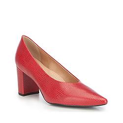 Dámské boty, červená, 87-D-702-3-35, Obrázek 1
