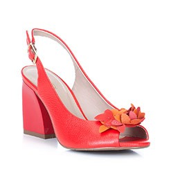 Dámské boty, červená, 88-D-555-3-36, Obrázek 1