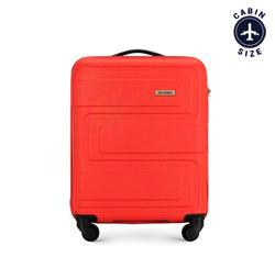 Kabinový kufr, červená, 56-3A-631-30, Obrázek 1