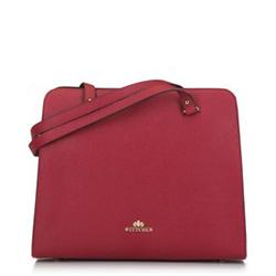 Tote bag, červená, 89-4-403-3, Obrázek 1