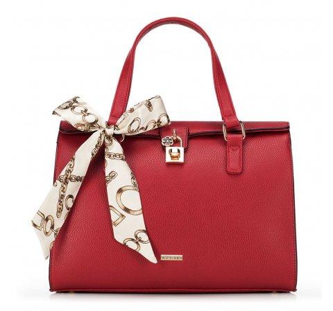 Dámská kabelka, červená, 90-4Y-608-1, Obrázek 1