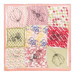 Dámský šátek, červená zelená, 87-7D-S21-X5, Obrázek 1