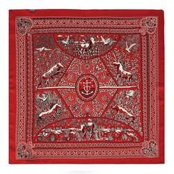 Dámská šála, červeno-bílá, 88-7D-S14-X6, Obrázek 1